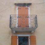 Ringhiera per balcone per ristrutturazione abitazione privata