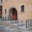 Ringhiera fronte casa per ristrutturazione abitazione privata