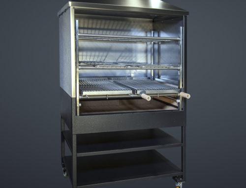 TECMAGRILL – griglia churraschera professionale a carbonella