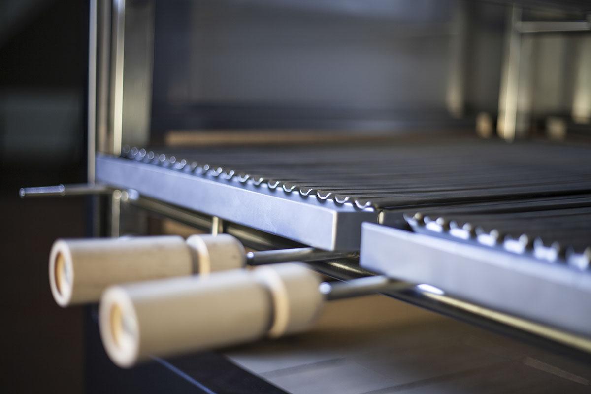 tecmagrill - churraschera professionale - dettaglio griglia 1° livello